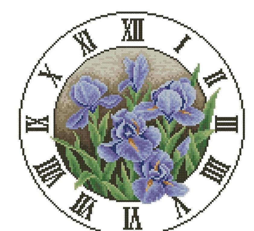 Часы - каталог схем для